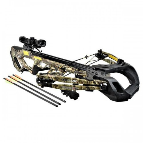 EK COMPOUND CROSSBOW GUILLOTINE-X 185 LBS FOLIUM CAMO (CR062M)