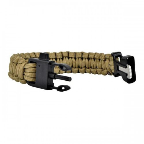 SURVIVAL BRACELET TAN (WO-SL42T)