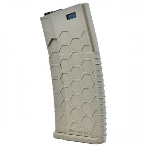 BIG DRAGON LOW-CAP M4 MAGAZINE 130 ROUNDS DARK EARTH (BD-04251T)