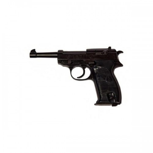 BRUNI TOP FIRING BLANK PISTOL P38 CALIBER 8MM BLACK (BR-1200)