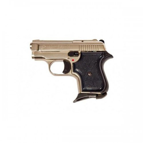 BRUNI BLANK PISTOL TOP FIRING 315 CALIBER 8MM NIKEL (BR-1900N)