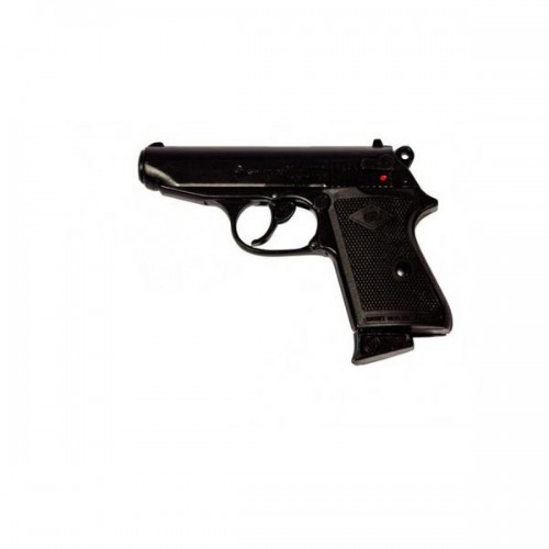 BRUNI BLANK PISTOL TOP FIRING NEW POLICE CALIBER 8MM BLACK (BR-2000)