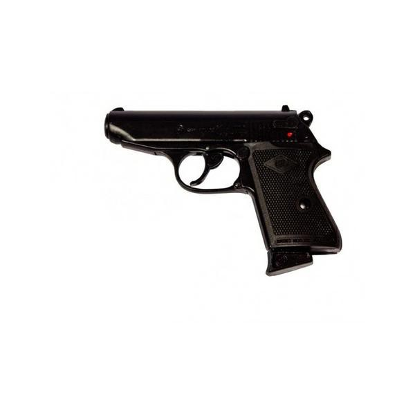 BRUNI BLANK PISTOL TOP FIRING NEW POLICE CAL 9 BLACK (BR-2001)