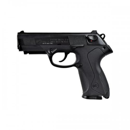 BRUNI TOP FIRING BLANK PISTOL P4 CALIBER 9MM BLACK (BR-2601)