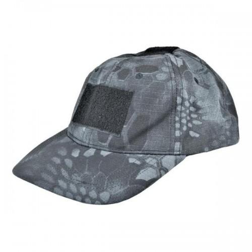 WOSPORT CAMO BASEBALL CAP TYPHON BLACK (WO-HA02TP)