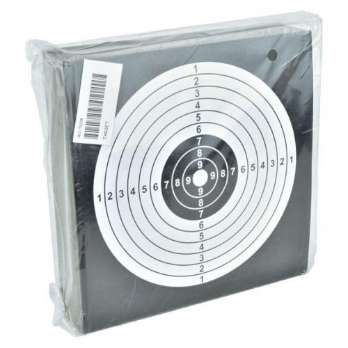 TARGET SHEETS 14 X 14 BLACK 100 PIECES (WO-TG01B)