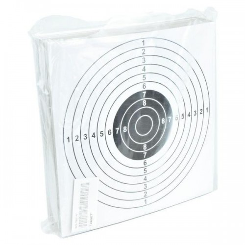 TARGET SHEETS 14 X 14 WHITE 100 PIECES (WO-TG01W)