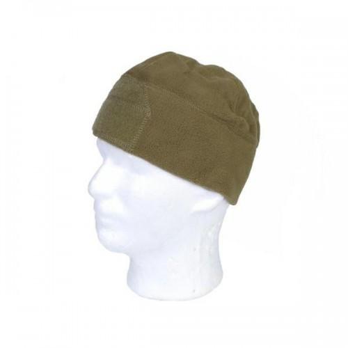 EMERSONGEAR FLEECE VELCRO WATCH CAP COYOTE BROWN (EM8542C)