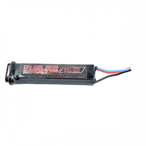 FUEL LI-PO BATTERY FOR ELECTRIC PISTOLS 7.4V X 550MAH 20C (B030L)