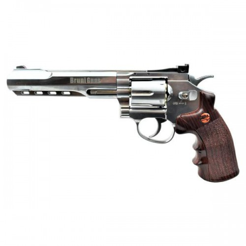BRUNI CO2 4,5MM REVOLVER 6 SILVER (BR-702S)
