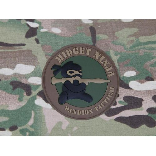 EMERSONGEAR PVC PATCH MIDGET NINJA (EM5545)