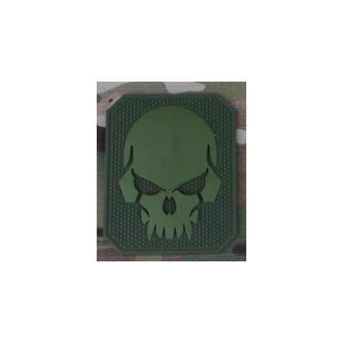 EMERSONGEAR PVC PATCH PIRATESKULL GREEN (EM5550)
