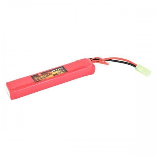 BILLOWY POWER LI-PO BATTERY 11.1V X 1200MAH 15C LARGE VERSION (BL-11.1X1200L)