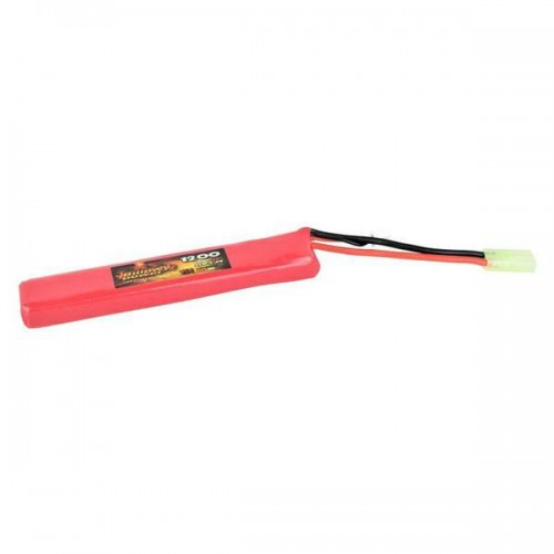 BILLOWY POWER LI-PO BATTERY 7.4VX1200MAH 15C LARGE VERSION (BL-7.4X1200L)