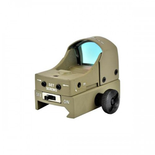 JS-TACTICAL MINI RED DOT TAN (JS-HD107T)