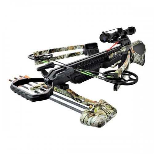 REVERSE DRAW COMPOUND CROSSBOW 135LBS CAMO (M81C)