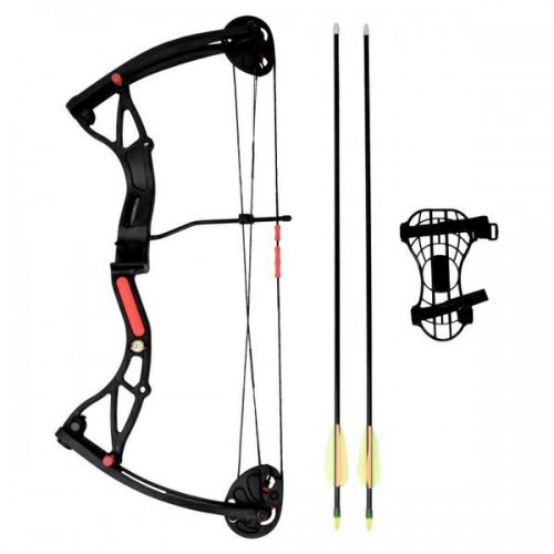 YOUTH COMPOUND BOW BUSTER 15-29 LBS BLACK (CO-034B)