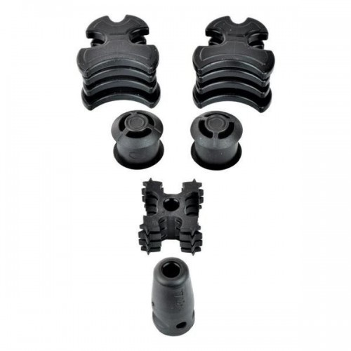 EK ARCHERY VIBRATION DAMPENER SET BLACK (30060)