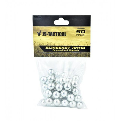 JS-TACTICAL BIGLIE IN METALLO 9,5MM 50PZ (JS-ST9.5)