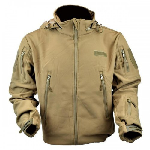 JS-TACTICAL GIACCA SHARK SKIN BROWN TAGLIA M (JW-BR-M)