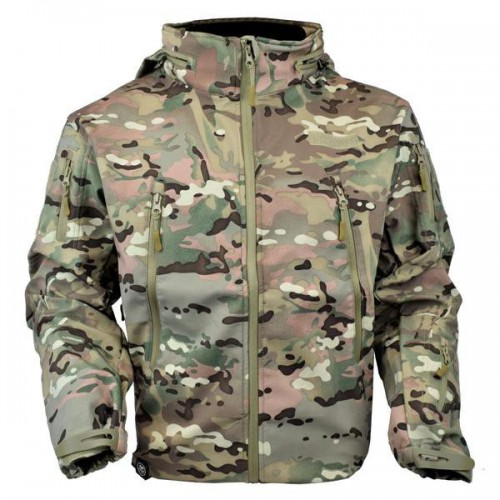 JS-TACTICAL GIACCA SHARK SKIN MULTICAM TAGLIA S (JW-MC-S)