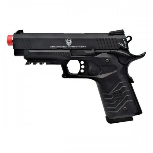 HFC GAS PISTOL HG-171 TACTICAL 1911 BLACK (HG 171B)