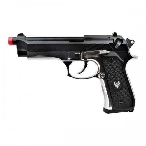 HFC BLOW BACK GAS PISTOL HG-194 BLACK/SILVER (HG 194BS)