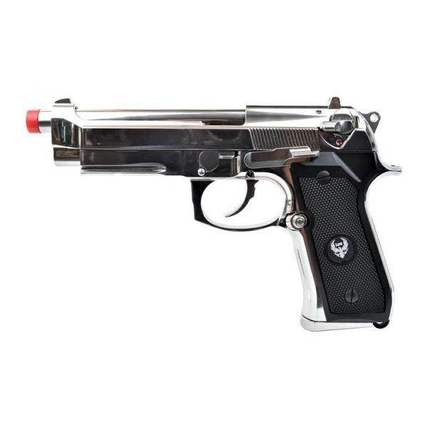 HFC BLOW BACK GAS PISTOL HG-194 SILVER (HG 194S)