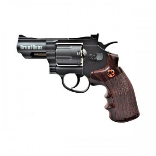 BRUNI CO2 4,5MM REVOLVER 2,5 BLACK (BR-708B)