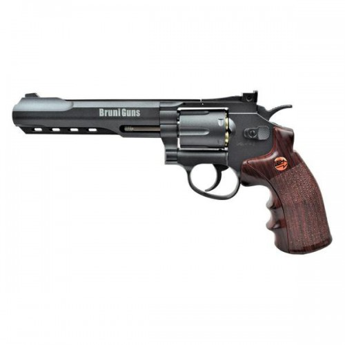 BRUNI CO2 4,5MM REVOLVER 6 BLACK (BR-702B)