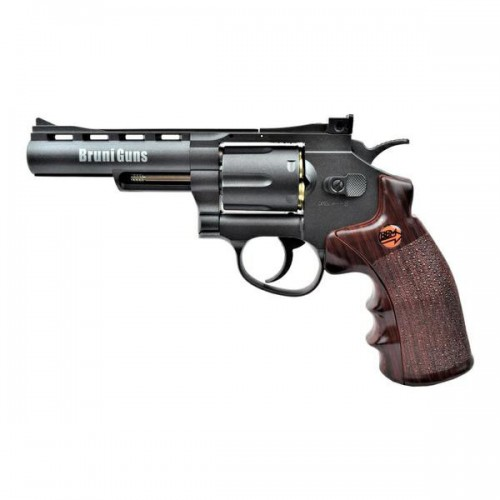 BRUNI CO2 4,5MM REVOLVER 4 BLACK (BR-701B)