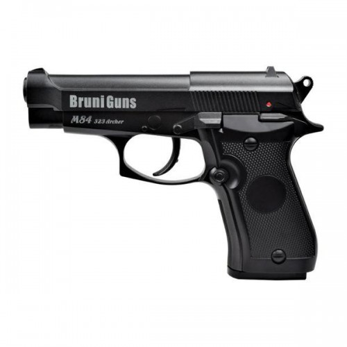 BRUNI CO2 4,5MM PISTOL M84 BLACK (BR-323MB)