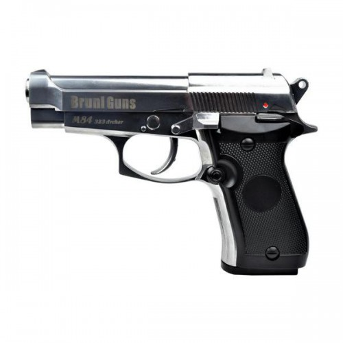 BRUNI CO2 4,5MM PISTOL M84 SILVER (BR-323MS)