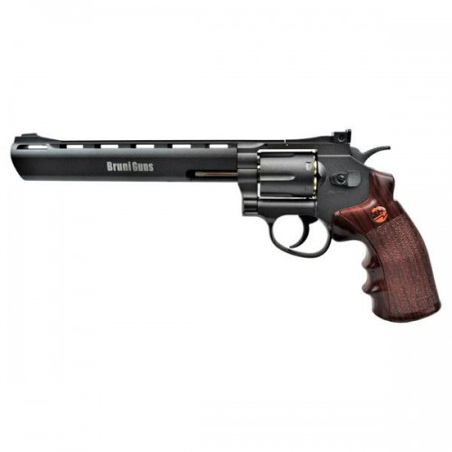 BRUNI CO2 4,5MM REVOLVER 8 BLACK (BR-703B)