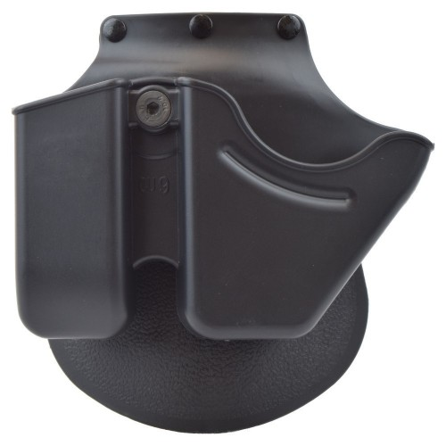 ROYAL HOLSTER FOR HANDCUFFS AND MAGAZINE BLACK (HVAR-B)
