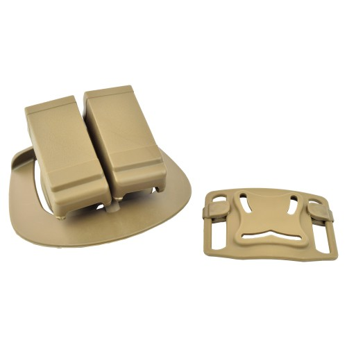 ROYAL DOUBLE GLOCK MAG HOLSTER TAN (HGLCAR-T)