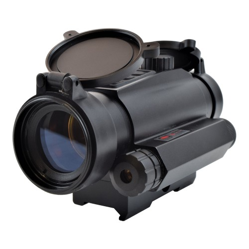JS-TACTICAL RED DOT WITH RED LASER (JS-HD30R)