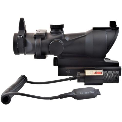 JS-TACTICAL RED DOT LENTE 32mm CON LASER ROSSO (JS-132B)