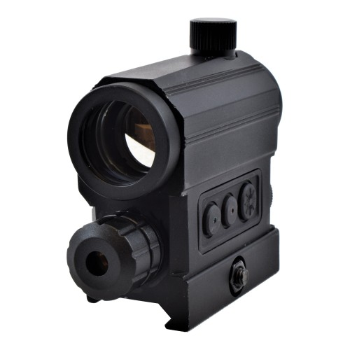 JS-TACTICAL RED DOT CON LASER ROSSO (JS-HD22X)