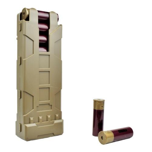 WOSPORT SHOTGUN SHELLS POUCH TAN (WO-EX0405T)