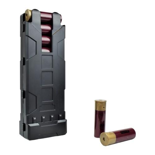WOSPORT SHOTGUN SHELLS POUCH BLACK (WO-EX0405B)