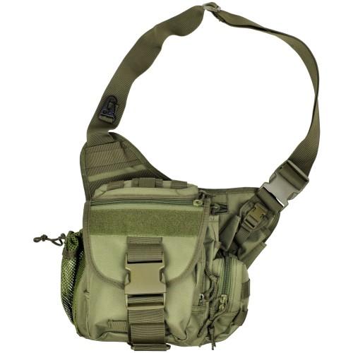 JS-TACTICAL TACTICAL SHOULDER BAG GREEN JS-1085V