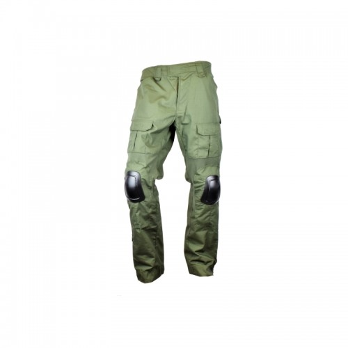 JS-TACTICAL COMBAT TROUSERS JS-WARRIOR GREEN S (JSWAR-PT-V-S)