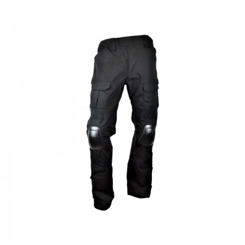JS-TACTICAL COMBAT TROUSERS JS-WARRIOR XL (JSWAR-PT-BK-XL)