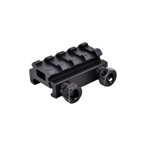 JS-TACTICAL 4 SLOT WEAVER RAIL 1/2 INCH RISER (JS-RT4L)