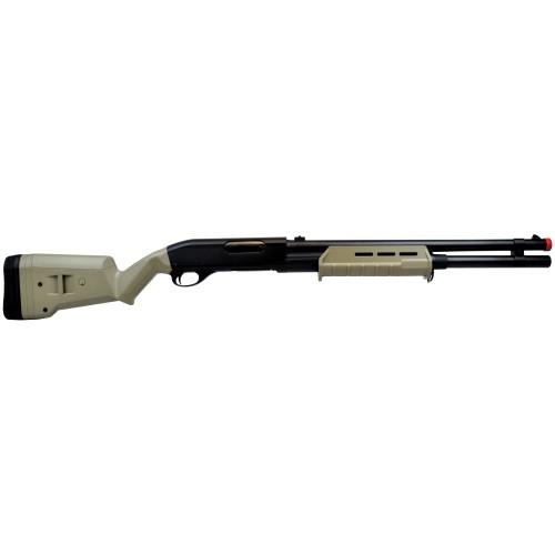 CYMA SHOTGUN 355 LONG PLASTIC TAN (CM355LT)