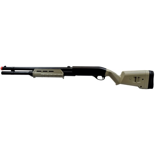 FUCILE A POMPA 355 LONG FULL METAL TAN (CM355LMT)