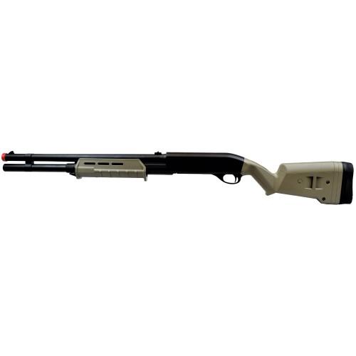 CYMA SHOTGUN 355 LONG FULL METAL TAN (CM355LMT)