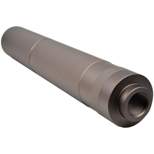 BIG DRAGON KNURLING SILENCER 195mm TAN (BD-0451)
