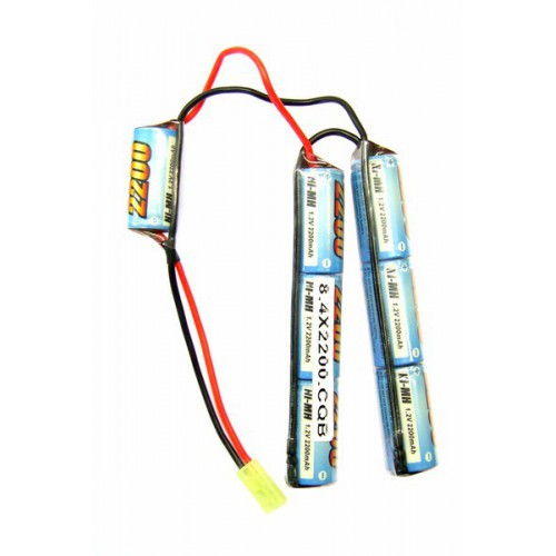 E-TANG POWER NI-MH BATTERY 8.4V X 2200MAH CQB VERSION (8.4X2200CQB)